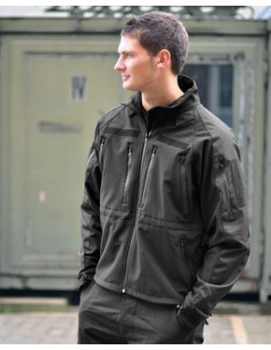 Sturm MilTec Jakna Softshell Professional Black