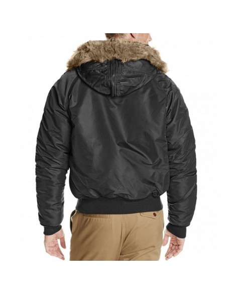 Sturm Teesar N2B Flight Jacket Black