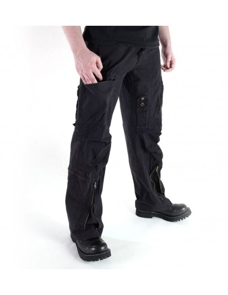 Sturm MilTec Flight Pants Popeline Stonewash Black
