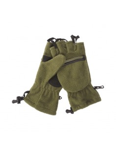 Sturm MilTec Fleece Hunting Gloves Olive