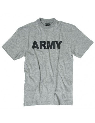 "Sturm MilTec T-Shirt ""Army"" Grey"