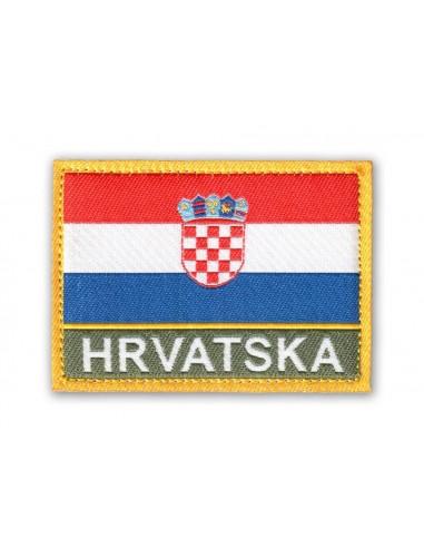 Prišivak Amblem Velcro/Čičak Zastava Hrvatska