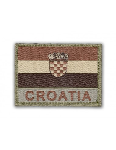 Patch Velcro Flag Croatia Desert