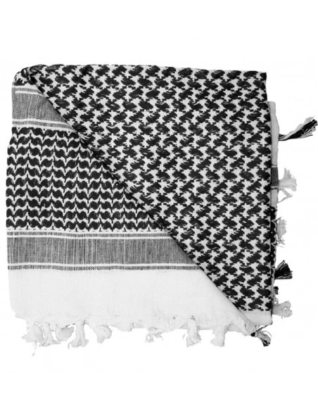 Rothco Shemagh Scarf White-Black