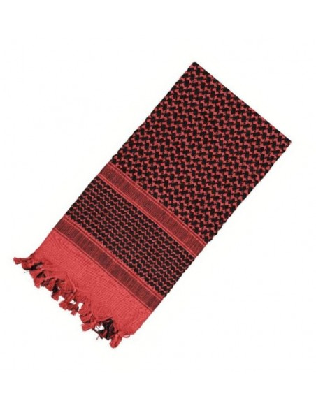 Rothco Shemagh Scarf Red-Black