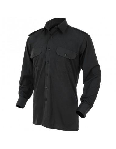 Sturm MilTec Security Shirt Long Sleeves Black
