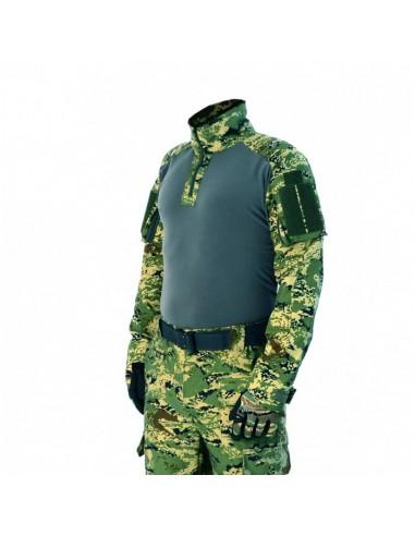 Spar-Tac Tactical Combat Shirt Ares RipStop Cropat Woodland