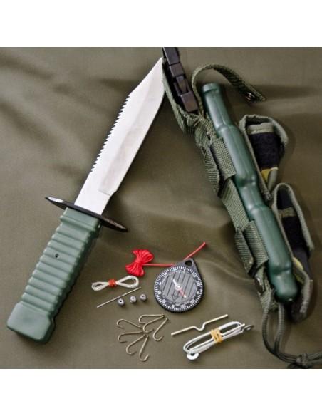Sturm Miltec Survival Knife Special Forces Black