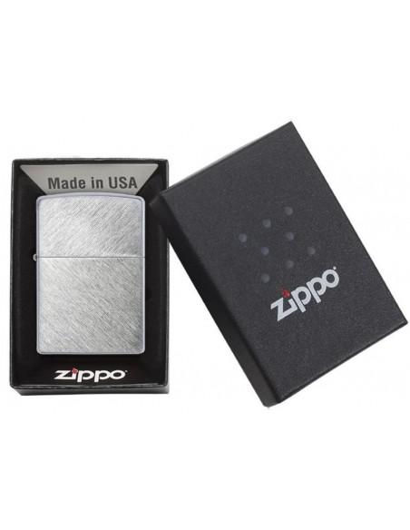 Zippo Upaljač Brushed Chrome Herringbone Sweep
