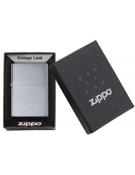 Zippo Upaljač Vintage Brushed Chrome