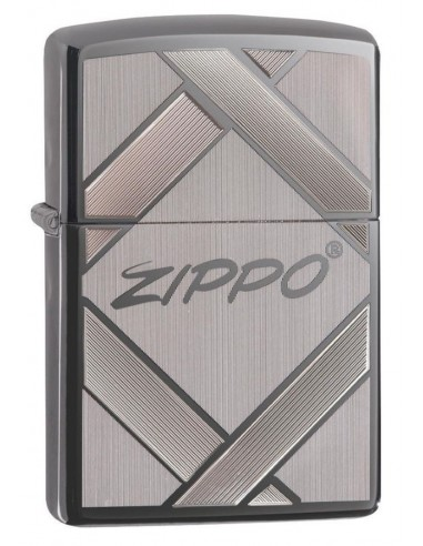 Zippo Lighter Black Ice Unparalled Tradition