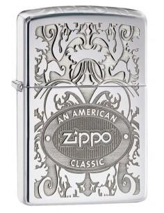 Zippo Lighter High Polish Chrome American Classic