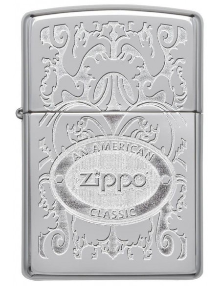 Zippo Lighter High Polish Chrome American Classic