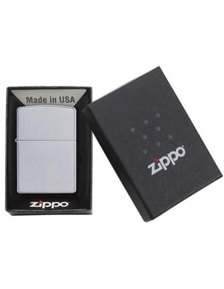 Zippo Lighter Classic Satin Chrome