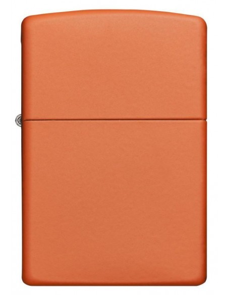 Zippo Lighter Classic Orange Matte