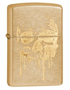 Zippo Upaljač Gold Dust Zippo Grunge Skull
