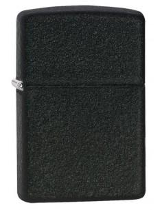 Zippo Lighter Classic Black Crackle