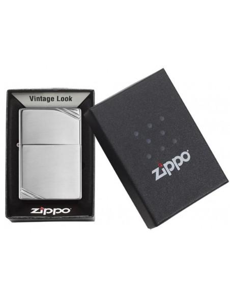 Zippo Upaljač Vintage Slashes High Polish Chrome