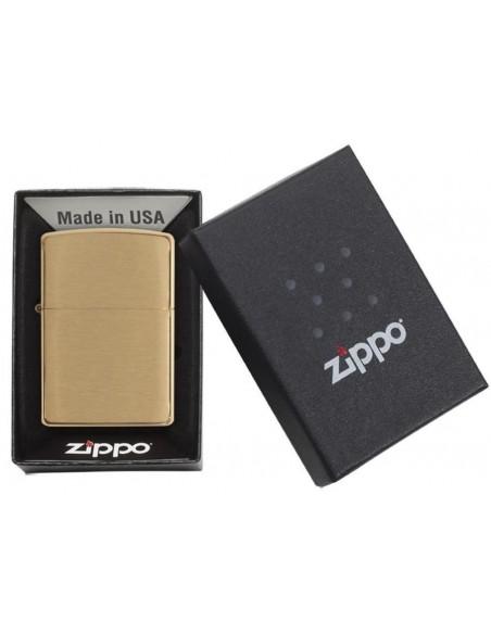 Zippo Upaljač Brushed Brass