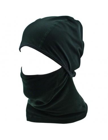 Highlander Fleece Face Mask with Helmet Liner Black