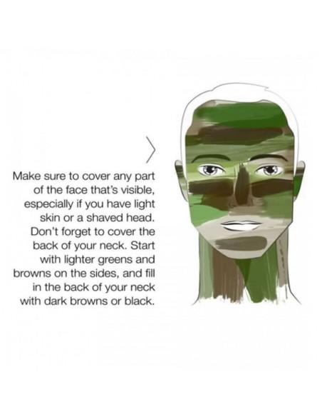 NATO Face Paint Bushcraft Brown-Green 60g