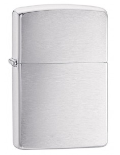 Zippo Lighter Classic Brushed Chrome