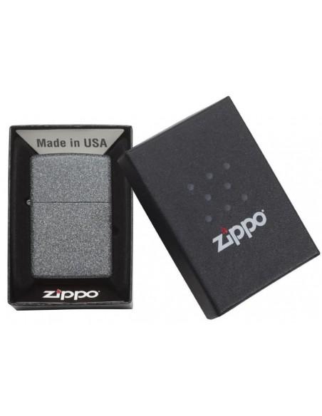 Zippo Lighter Classic Iron Stone