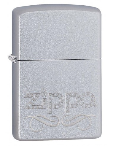 Zippo Upaljač Satin Chrome Zippo Scroll