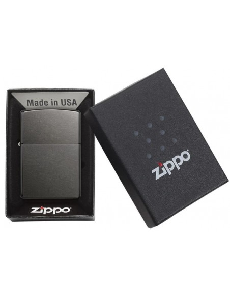 Zippo Lighter Grey Dusk Matte