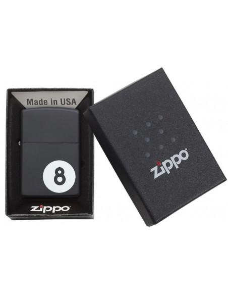 Zippo Upaljač Black Matte 8 Ball
