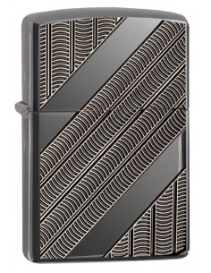 Zippo Upaljač Armor High Polish Black Ice Coils