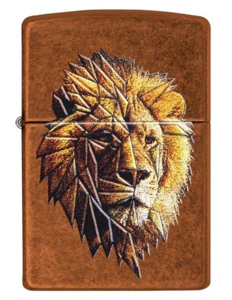 Zippo Upaljač Toffee Polygonal Lion Design