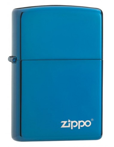 Zippo Upaljač High Polish Blue Zippo Logo