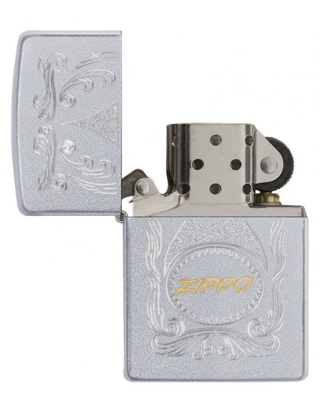 Zippo Lighter Classic Satin Chrome