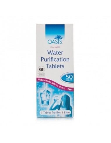 Oasis Aquaclear Water Purification Tablet