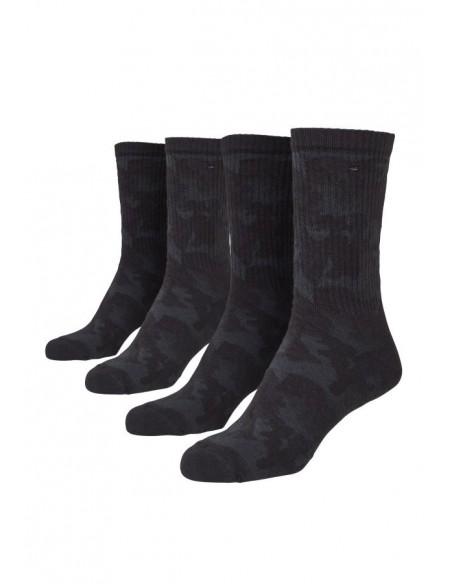 Urban Classic Socks 2 Pack Dark Camo