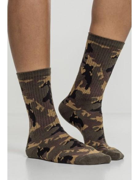 Urban Classic Socks 2 Pack Wood Camo
