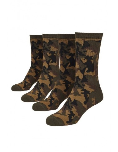 Urban Classic Socks 2 Pack Wood Camo