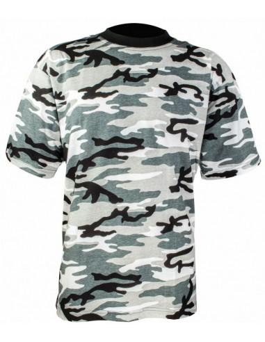 Highlander Kids T-Shirt Urban Camo