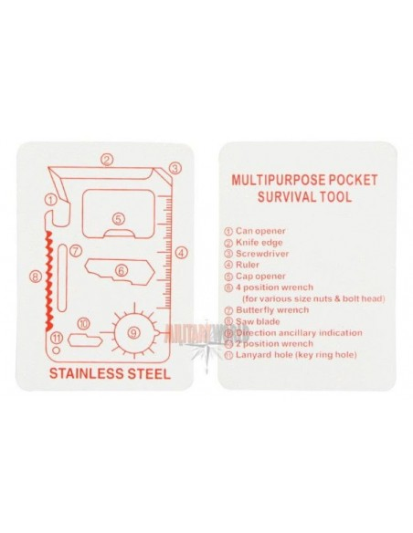 Sturm Miltec Survival Card