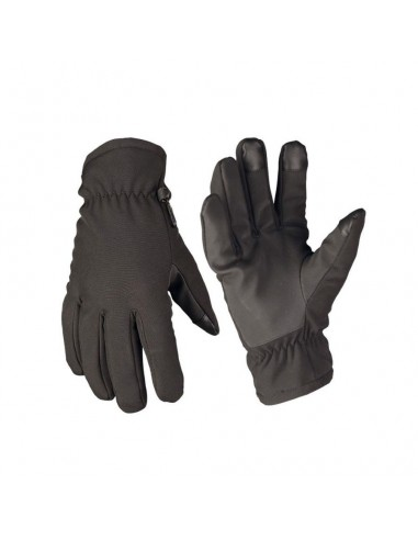 Sturm MilTec Tactical Softshell Thinsulate Gloves Black