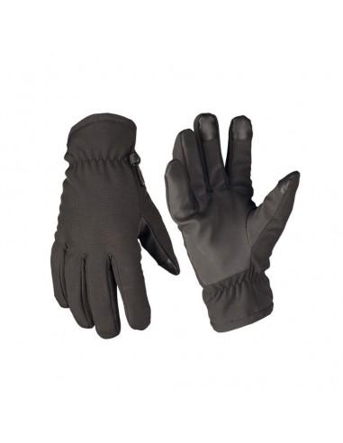 Sturm MilTec Tactical Softshell Thinsulate Rukavice Black