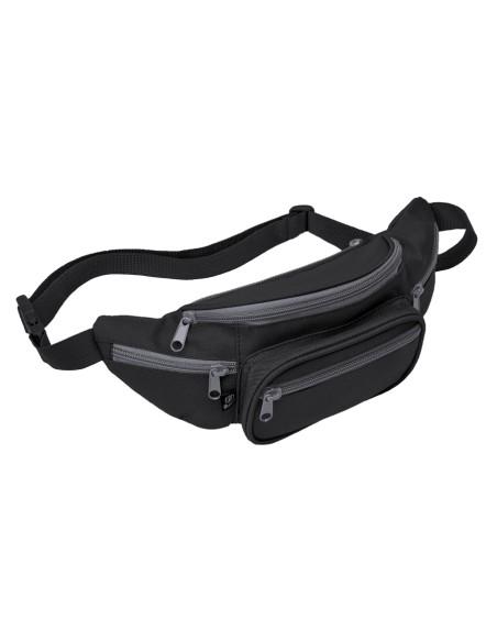 Brandit Waistbeltbag Black - Anthracite