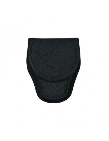 Bianchi M-8001 Patroltek™ Single Black Hidden Snap Handcuff Case