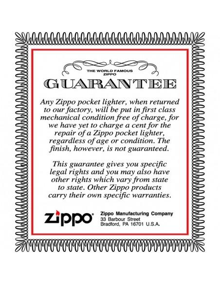 Zippo Lighter  Black Matte Colorful Skull