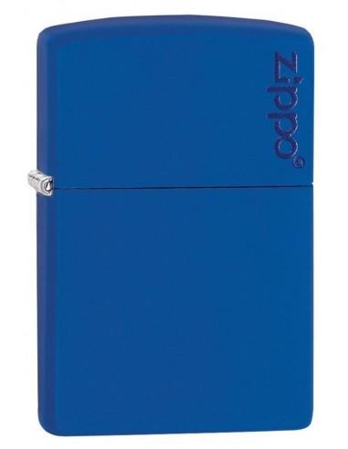 Zippo Upaljač Royal Blue Matte Zippo Logo