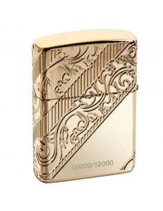 Zippo Upaljač Armor Gold Plated Golden Scroll Collectible 2018