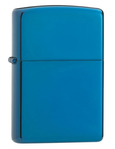 Zippo Lighter High Polish Blue Sapphire