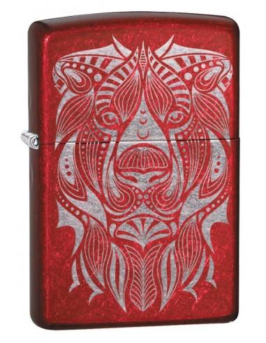 Zippo Upaljač Candy Apple Red Lion Tatto Design