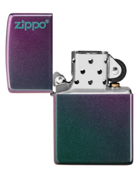 Zippo Lighter Classic Iridescent Zippo Logo